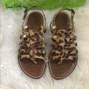 Sam Edelman Cheetah Strappy Sandal